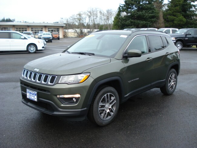 New 2018 Jeep Compass LATITUDE 4X4 Sport Utility For Sale/Lease Coos Bay, OR