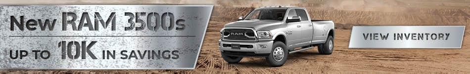 New Ram 3500s