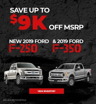 2019 Ford F-250 & 2019 Ford F-350 - Sale