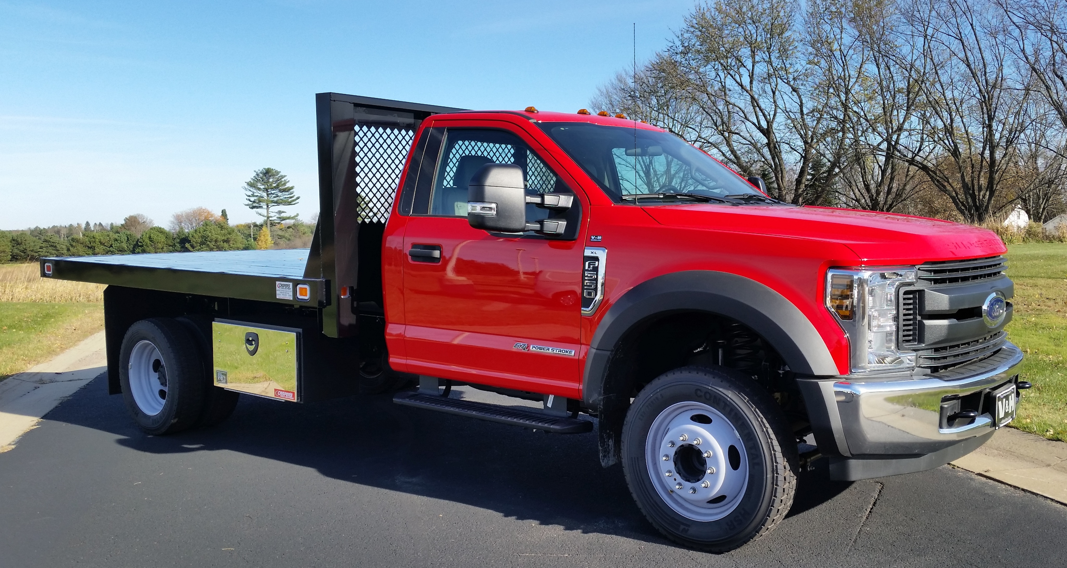 2018 Ford F-550SD XL Truck