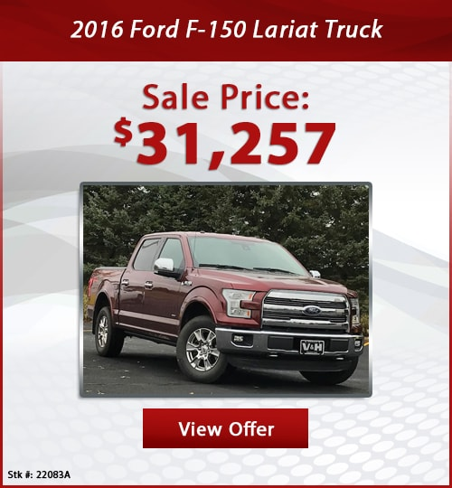 V & H Automotive Used Special 2016 Ford F-150 Lariat Truck