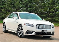 Used 2017 Lincoln Continental Premiere Sedan for sale in Marshfield, WI