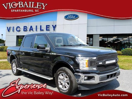 2018 Ford F-150 Lariat 4WD Supercrew 5.5 Box Truck