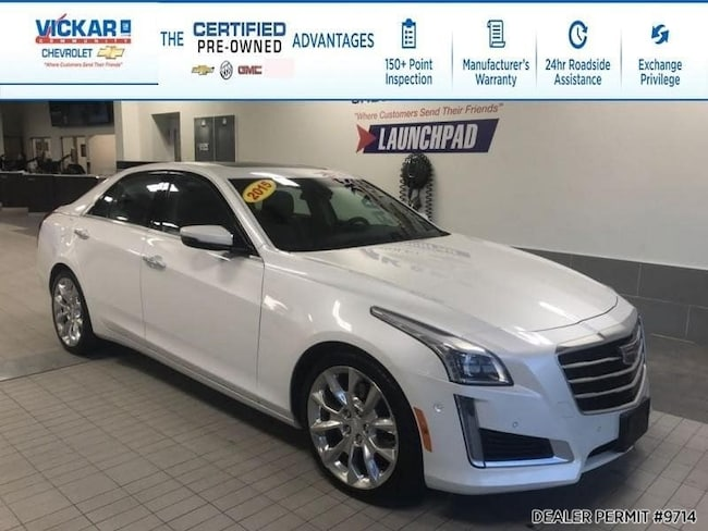2015 Cadillac CTS AWD, Navigation, Leather Interior, Remote Start, S Sedan