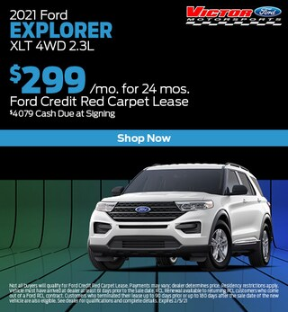 January 2021 Ford Explorer XLT 4WD 2.3L