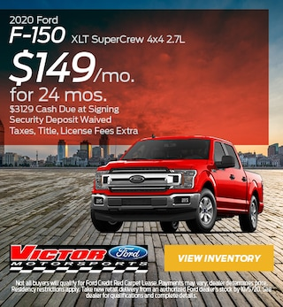 September 2020 Ford F-150 XLT SuperCrew 4x4 2.7L
