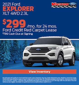 February 2021 Ford Explorer XLT 4WD 2.3L