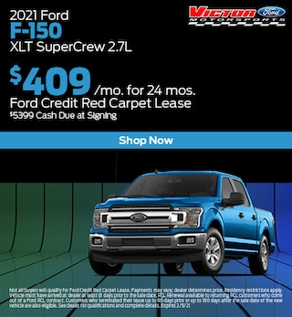 January 2021 Ford F-150 XLT SuperCrew 2.7L