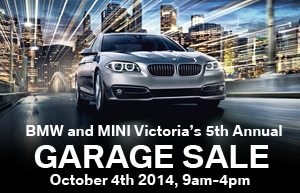 BMW and MINI 5th Annual Fall Garage Sale