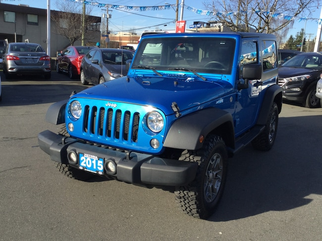 2015 Jeep Wrangler Sport | One Owner | Local | Accident-Free SUV