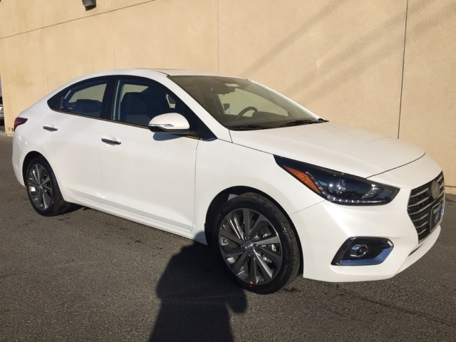 Featured New 2019 Hyundai Accent Limited Sedan 3KPC34A39KE053682 for sale near you in Victorville, CA