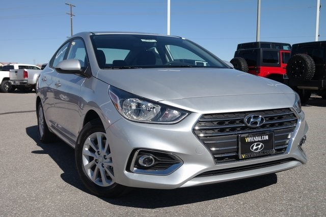 Featured New 2019 Hyundai Accent SEL Sedan 3KPC24A33KE056161 for sale near you in Victorville, CA