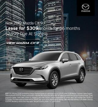 2019 Mazda CX-9 - Lease