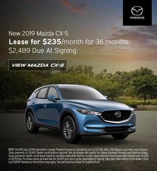 2019 Mazda CX-5 - Lease