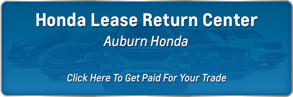 Honda Lease Return near Sacramento CA