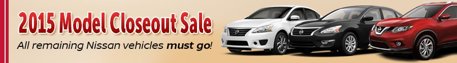 2015 NIssan elimination sale near Bristol & Kingsport TN
