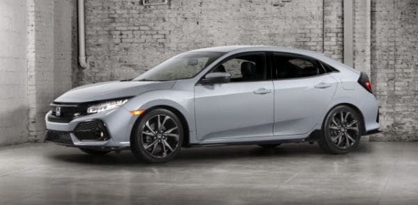 New Honda Civic Hatchback dealer near Salinas & Watsonville CA