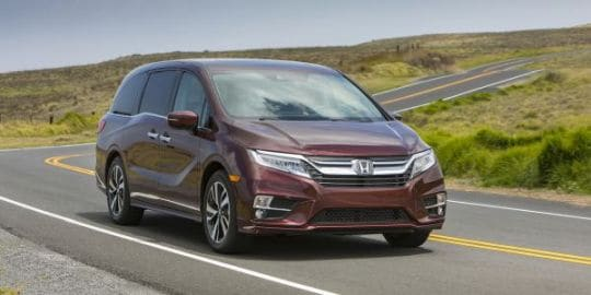 New Honda Odyssey dealer near Salinas CA