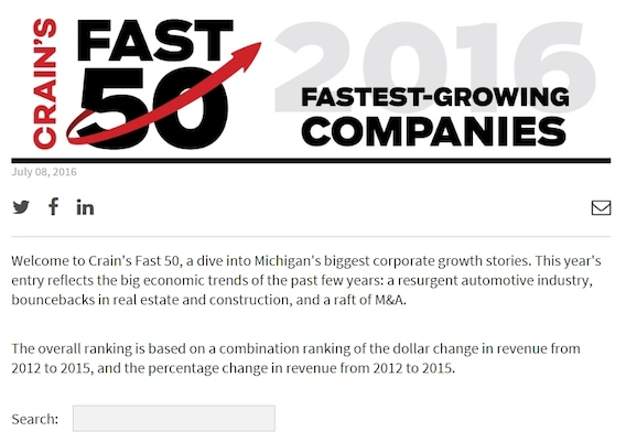 Victory Automotive Group >> Victory Automotive Group Named To Crain S Fast 50 2016