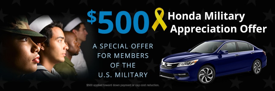 Honda Military Discount near Nashville TN