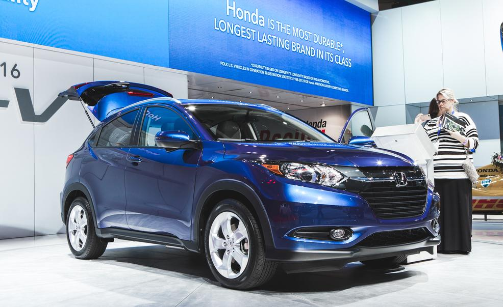 2016 Honda HR-V at Ocean Honda serving Santa Cruz & Salinas CA