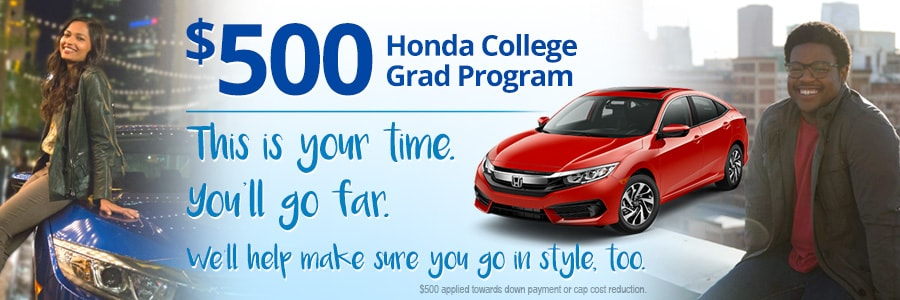 Honda College Grad Program near Tampa & Clearwater FL