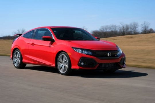 Find New Honda Civic Si near San Jose CA