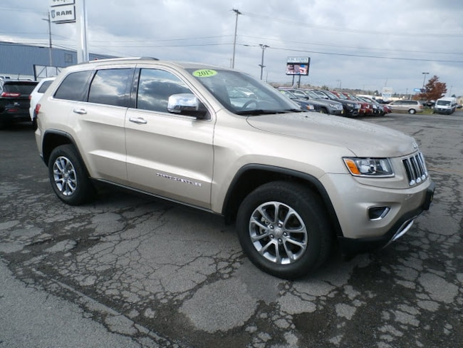 Used 2015 Jeep Grand Cherokee Limited 4x4 Limited  SUV Rome NY