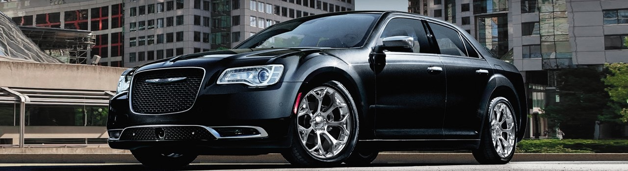 Black chrysler 300