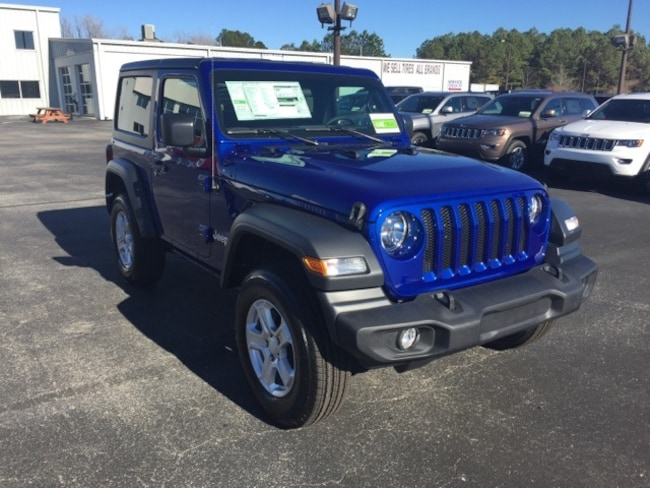 Jeep Wrangler Sport For Sale >> New 2019 Jeep Wrangler Sport S 4x4 For Sale Shallotte Nc Near