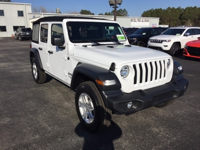 Jeep Wrangler Unlimited Sport >> New 2019 Jeep Wrangler Unlimited Sport S 4x4 For Sale