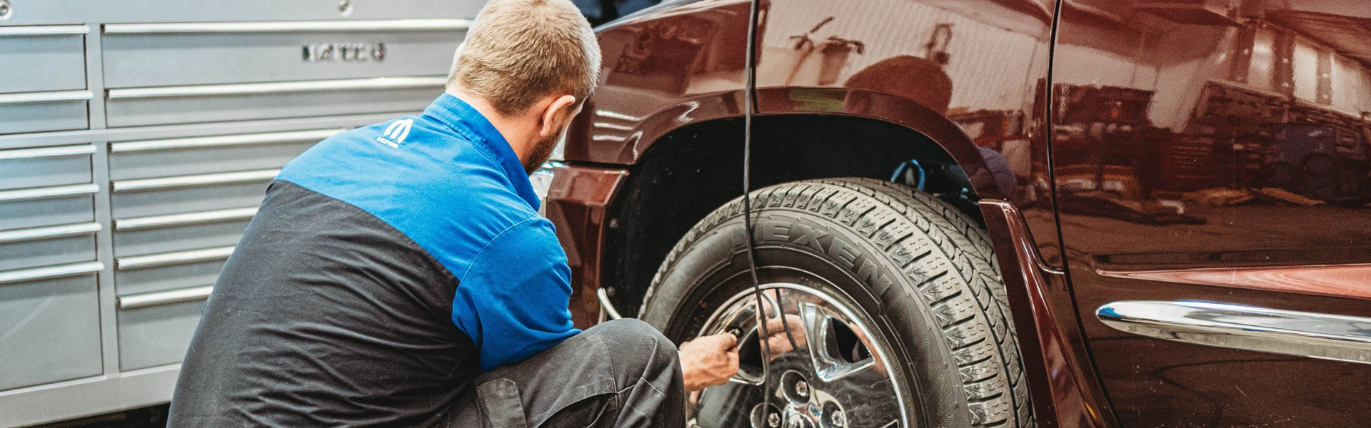 Tire rotation service in Ottawa, KS