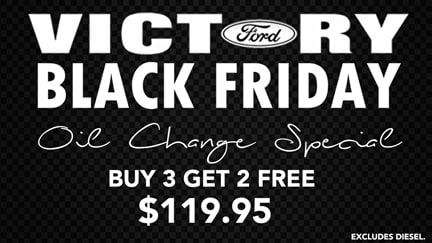 Black Friday Victory Ford