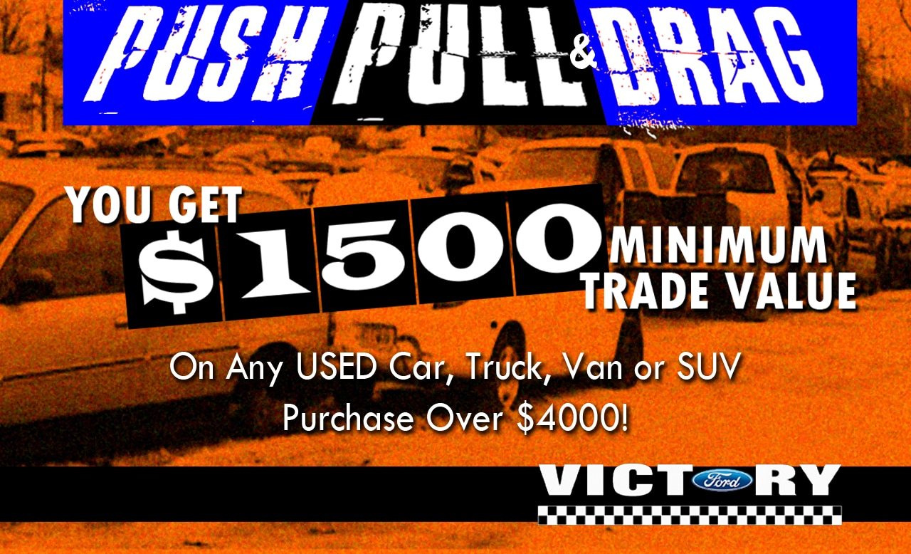 Push, Pull and Drag Sale near Dubuque