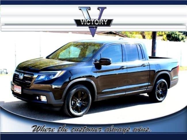 2017 Honda Ridgeline Black Edition AWD Truck Crew Cab