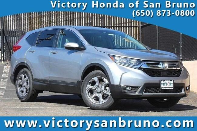 New 2018 Honda CR-V EX-L SUV 7FARW2H85JE052372 for sale near San Francisco (SF) CA