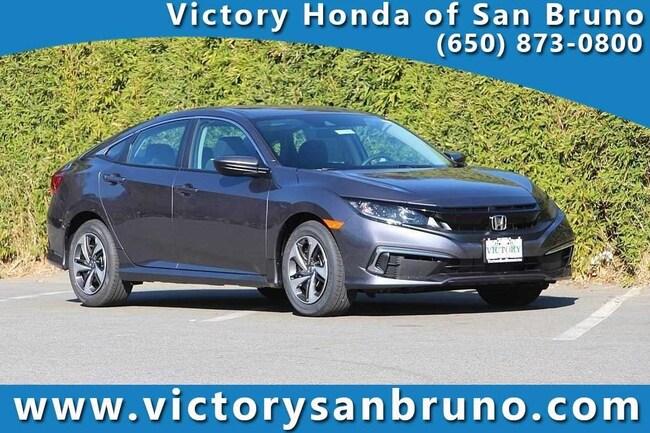 New 2019 Honda Civic LX Sedan 19XFC2F67KE200344 for sale near San Francisco (SF) CA