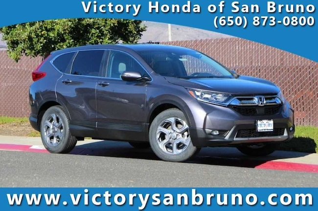 New 2018 Honda CR-V EX-L 2WD SUV 5J6RW1H83JA005544 for sale near San Francisco (SF) CA