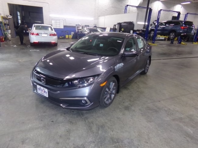 New 2019 Honda Civic EX Sedan 19XFC1F34KE000117 for sale near Port Clinton OH