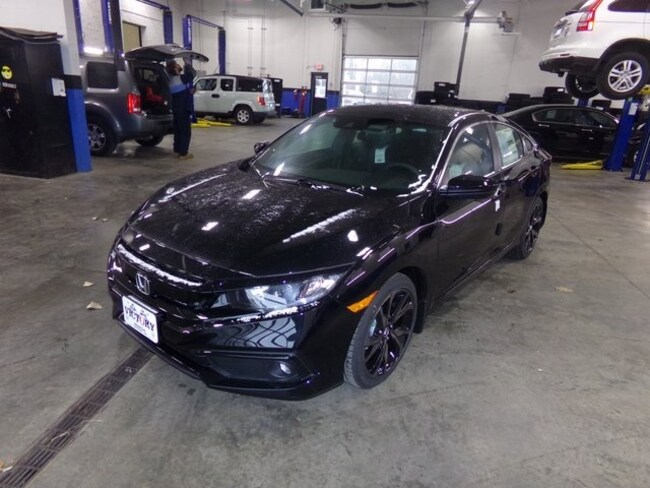 New 2019 Honda Civic Sport Sedan 2HGFC2F83KH526780 for sale near Port Clinton OH