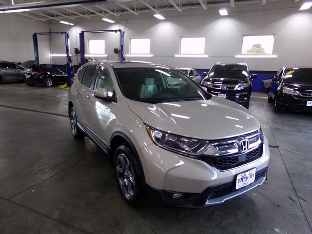 New 2018 Honda CR V EX AWD SUV 2HKRW2H57JH683224 For Sale Near Port Clinton  OH