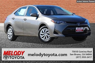 New 2018 Toyota Corolla XSE Sedan 2T1BURHE4JC065376