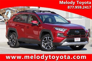 New 2019 Toyota RAV4 Adventure SUV 2T3J1RFV6KC017619