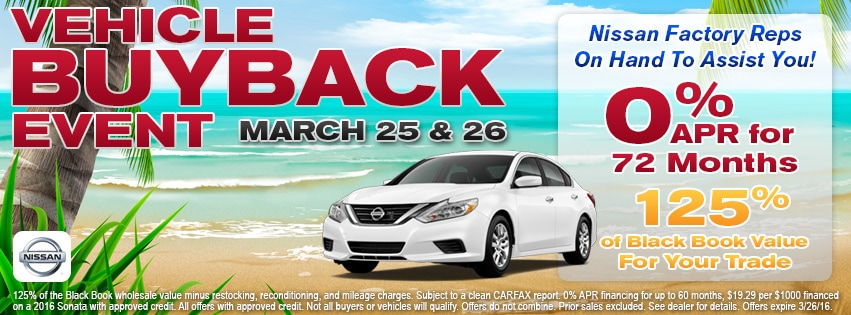 Nissan Express Buyback Trade-in Offer | Victory Nissan near Nashville TN