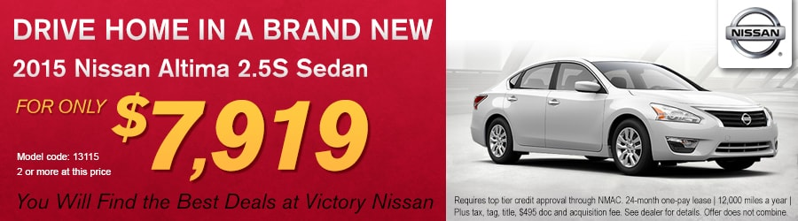 2015 Nissan Altima Discount