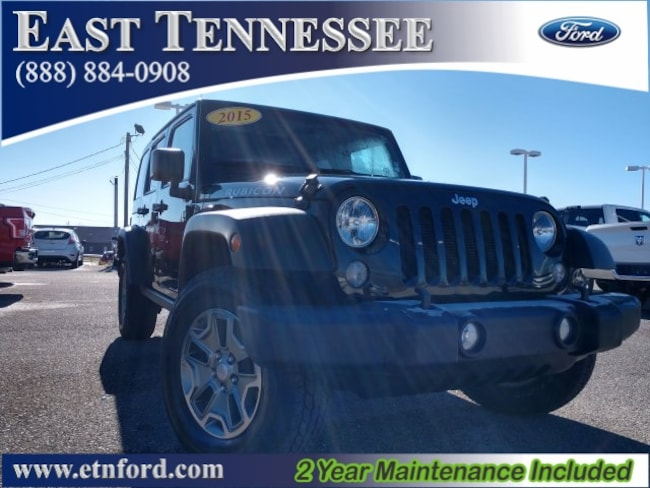 Used 2015 Jeep Wrangler Unlimited Unlimited Rubicon SUV 1C4HJWFG4FL505702 for sale near Chattanooga