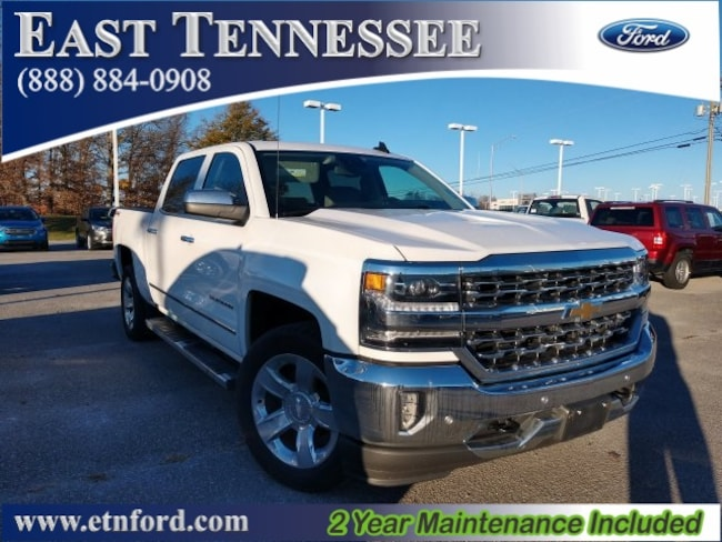 Used 2017 Chevrolet Silverado 1500 LTZ Truck Crew Cab 3GCUKSEJXHG502675 for sale near Chattanooga