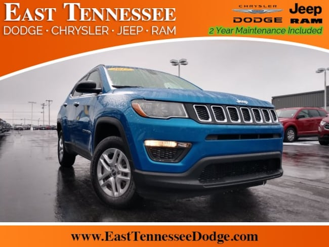 Used 2017 Jeep New Compass Sport SUV 3C4NJDAB3HT642446 for sale near Chattanooga