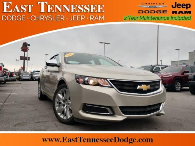 Used 2015 Chevrolet Impala LS Sedan 2G11Z5SL2F9134692 for sale near Chattanooga