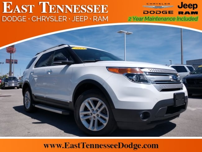 Used 2013 Ford Explorer XLT SUV 1FM5K8D82DGA04252 for sale near Chattanooga